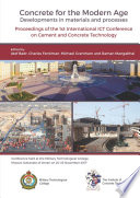 Concrete for the Modern Age Developments in materials and processes