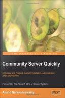 Community Server Quickly Pdf/ePub eBook