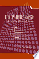 Food Protein Analysis Book