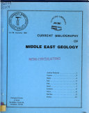 Current Bibliography of Middle East Geology