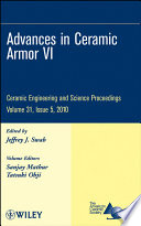 Advances in Ceramic Armor VI