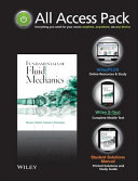 All Access Pack for Fundamentals of Fluid Mechanics Set