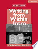 Writing from Within Intro Teacher's Manual