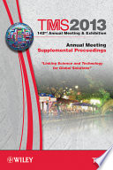 TMS 2013 142nd Annual Meeting and Exhibition  Annual Meeting Book