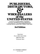 Publishers and Distributors of the United States