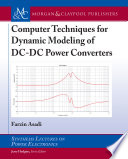 Computer Techniques for Dynamic Modeling of DC-DC Power Converters