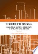 Leadership in East Asia