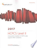 HCPCS LEVEL II PROFESSION-2017