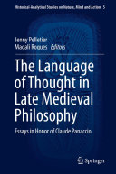 Pdf The Language of Thought in Late Medieval Philosophy Telecharger