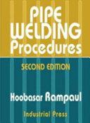 Pipe Welding Procedures
