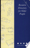 Resource Directory For Older People Book PDF