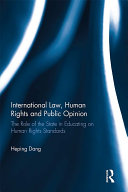 International Law  Human Rights and Public Opinion