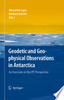 Geodetic and Geophysical Observations in Antarctica Book