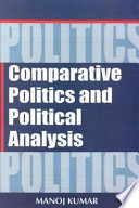 Comparative Politics And Political Analysis