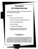 Annual Report Commonwealth Of Pennsylvania Job Training Partnership Act Jtpa