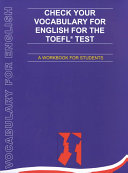 Check Your Vocabulary for the TOEFL Test