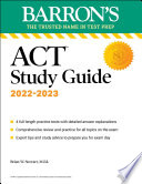 BARRONS ACT STUDY GUIDE  Book PDF