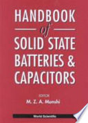 Handbook Of Solid State Batteries Capacitors Book PDF