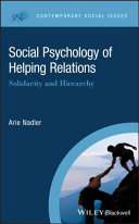 Social Psychology of Helping Relations [Pdf/ePub] eBook