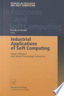 Industrial Applications Of Soft Computing Book