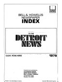 Pdf Bell & Howell's Newspaper Index to the Detroit News