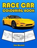 Race Car Colouring Book
