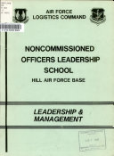 Noncommissioned Officers Leadership School  Hill Air Force Base