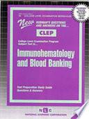 Immunohematology & Blood Banking