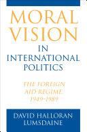 Moral Vision in International Politics