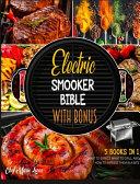Electric Smoker Bible with Bonus  5 Books in 1