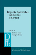Linguistic Approaches to Emotions in Context