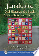 Book cover for Junaluska : oral histories of a Black Appalachian community