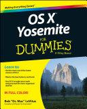 OS X Yosemite For Dummies [Pdf/ePub] eBook