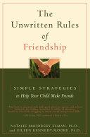 The Unwritten Rules of Friendship [Pdf/ePub] eBook