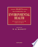Clay s Handbook of Environmental Health Book