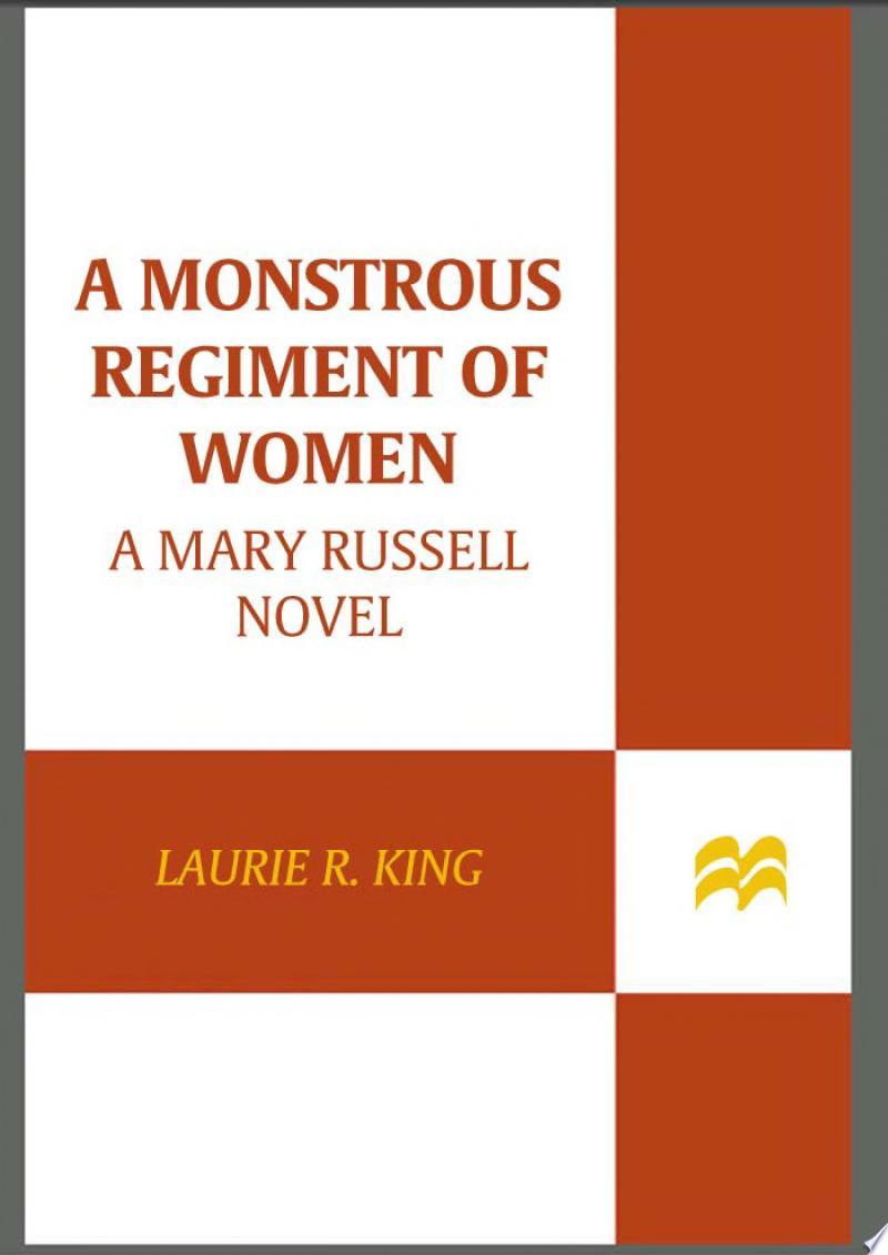 A Monstrous Regiment of Women banner backdrop