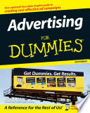 Advertising For Dummies Book