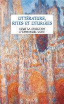 Pdf Littérature, rites et liturgies Telecharger