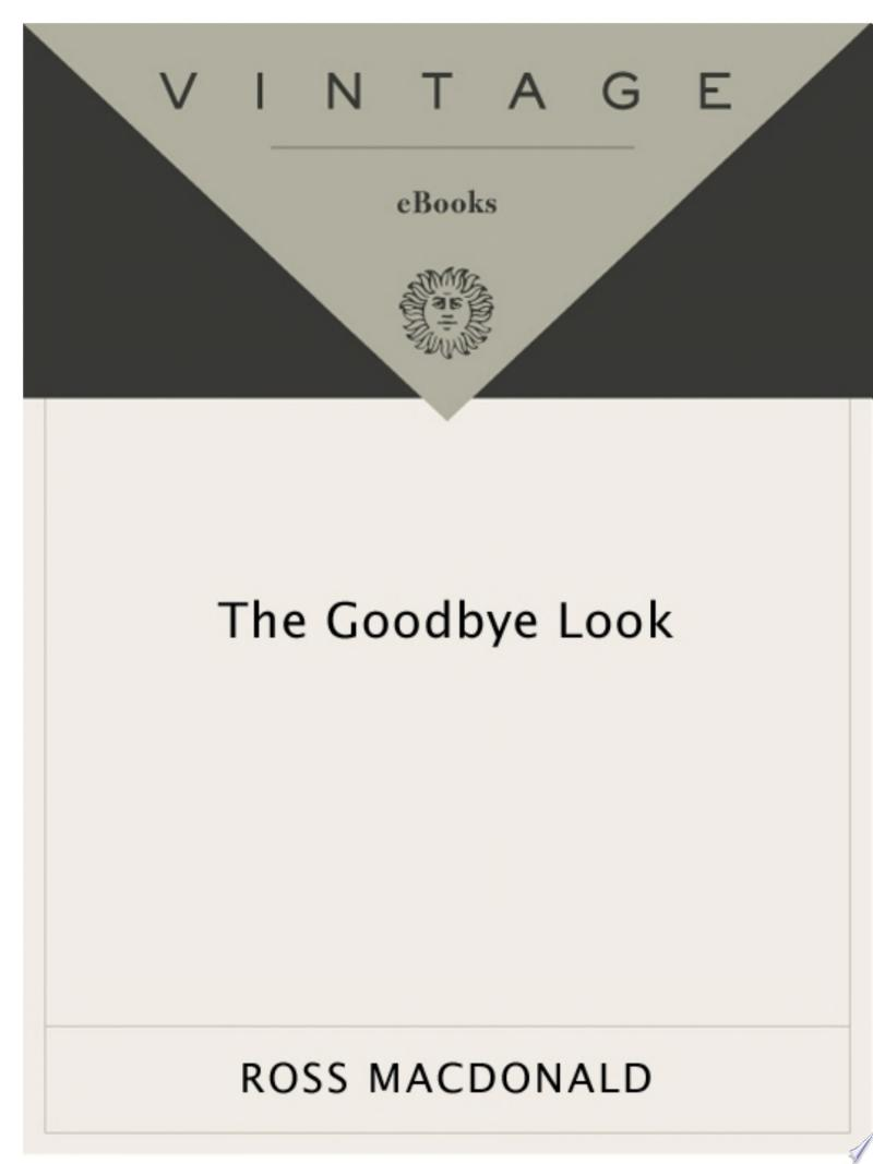 The Goodbye Look banner backdrop