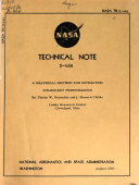 NASA Technical Note