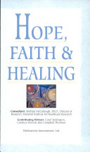 Hope  Faith   Healing Book PDF