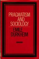 Pragmatism and Sociology
