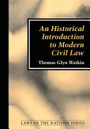 An Historical Introduction to Modern Civil Law
