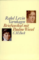 Briefwechsel mit Pauline Wiesel