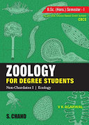 Zoology for Degree Students (For B.Sc. Hons. 1st Semester, As per CBCS)