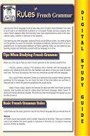 French Grammar   Blokehead Easy Study Guide