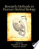 Research Methods In Human Skeletal Biology Book PDF