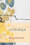 Pdf Le Decalogue Telecharger