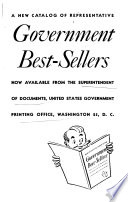 A New Catalog Of Representative Government Best Sellers Now Available From The Superintendent Of Documents