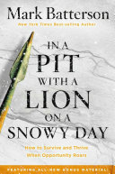 In a Pit with a Lion on a Snowy Day